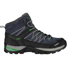 CMP Campagnolo Rigel WP Buty trekkingowe Mid Mężczyźni, antracite-verde fluo